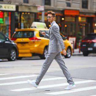 Suit nam màu xám và những cách phối