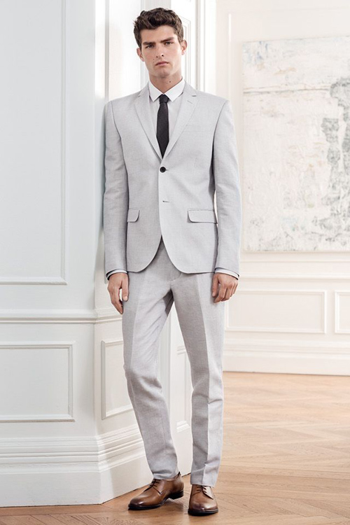 suit nam xam - suit xam nhat formal 2 - elle man