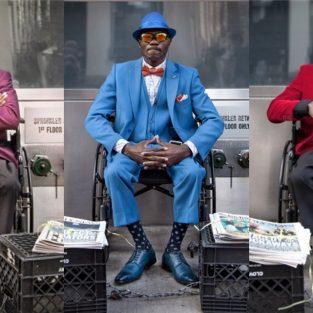 Phong cách thời trang của người bán báo nổi tiếng nhất New York