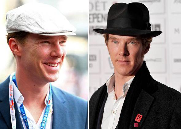 Benedict có bộ sưu tập mũ đáng nể