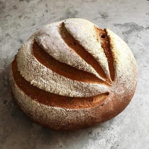 Một chiếc bánh mỳ pain de campagne của Matt - không thua kém những người thợ chuyên nghiệp
