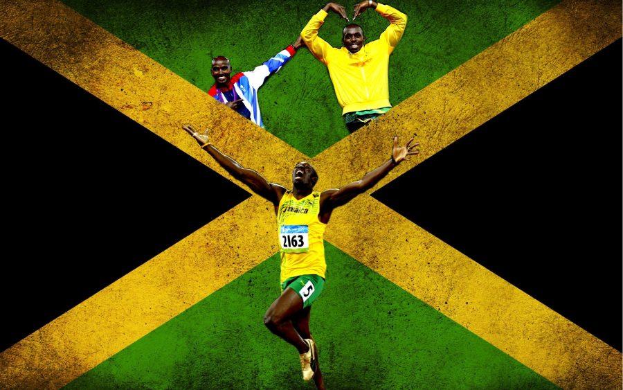 Jamaica - Đất nước vua tốc độ, quốc kỳ Jamaica.