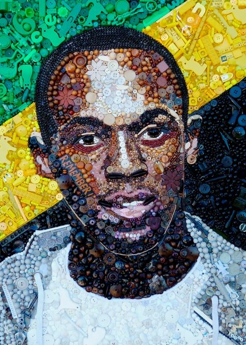 Jamaica - Đất nước vua tốc độ, tranh vẽ.