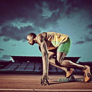 Usain Bolt - Tia Chớp Đen của thế giới luyện tập ra sao?