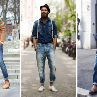 Những mẹo phối với áo quần jeans nam