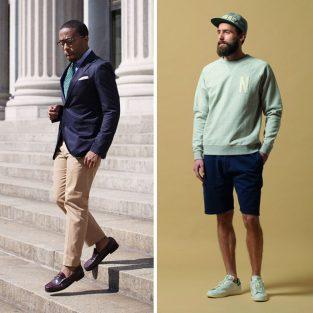 Cách phối đồ nam: chọn giày phù hợp cho các kiểu quần