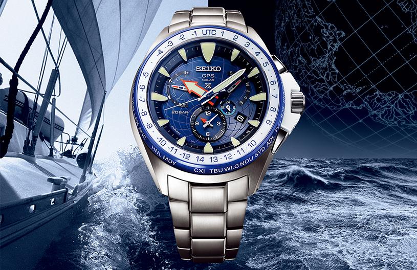 đồng hồ nam Seiko cảm hứng đại dương.