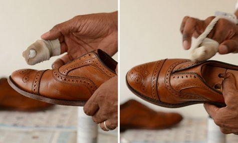 Giày da nam: Tự đánh nếu muốn bền đẹp