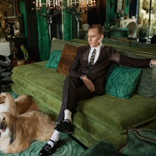 Tom Hiddleston - Gương mặt của BST Gucci Cruise 2017