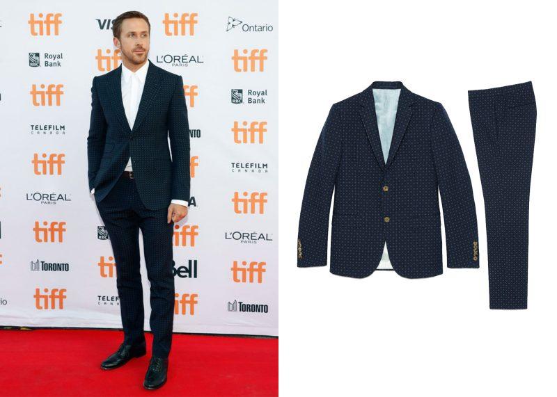 Phong cách mặc suit nam: Ryan Gosling