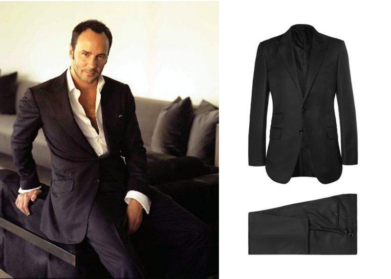 Phong cách mặc suit nam: TOM FORD