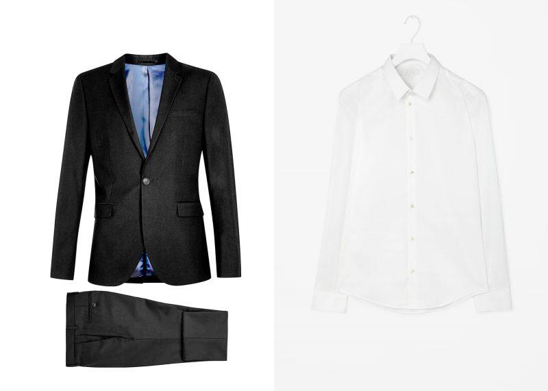 Phong cách mặc suit nam: Topman, COS