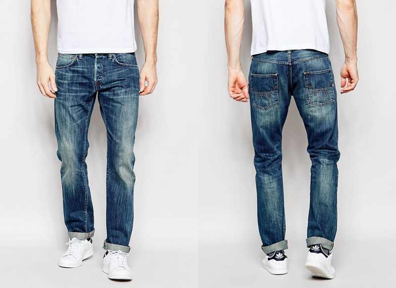 Quần jeans hàng hiệu Edwin.