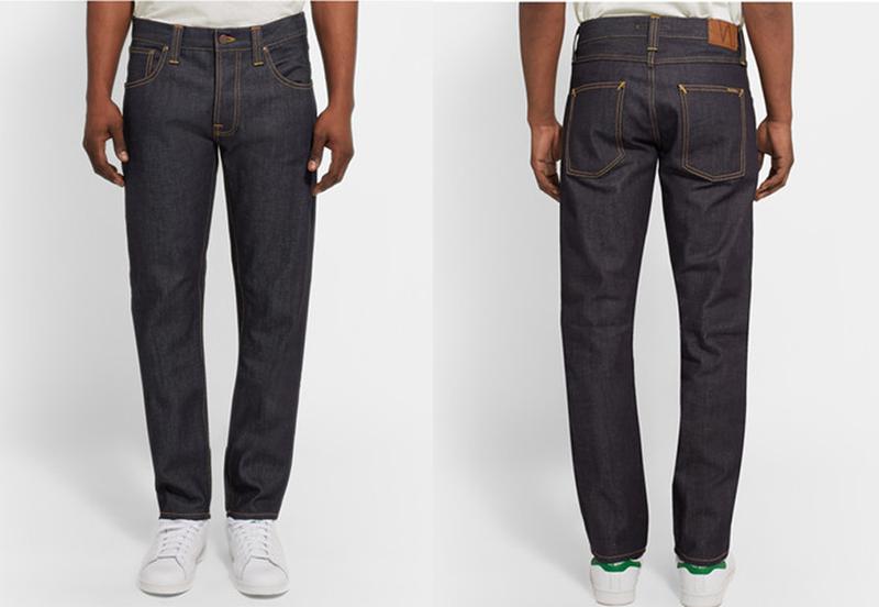 Quần jeans hàng hiệu Nudie Jeans.