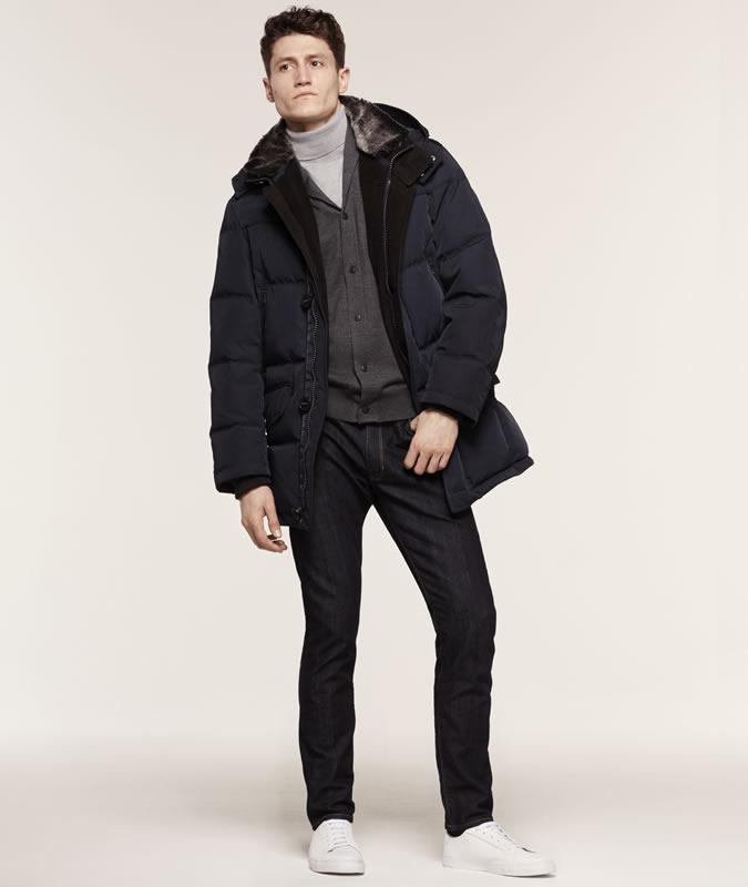 Quần jeans hàng hiệu của Marks & Spencer.