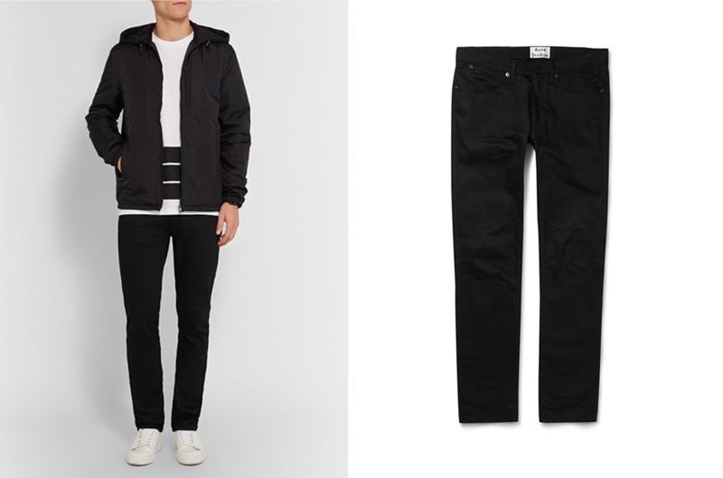 xu hướng quần jeans nam cuối năm 2016: quần Acne Studio.