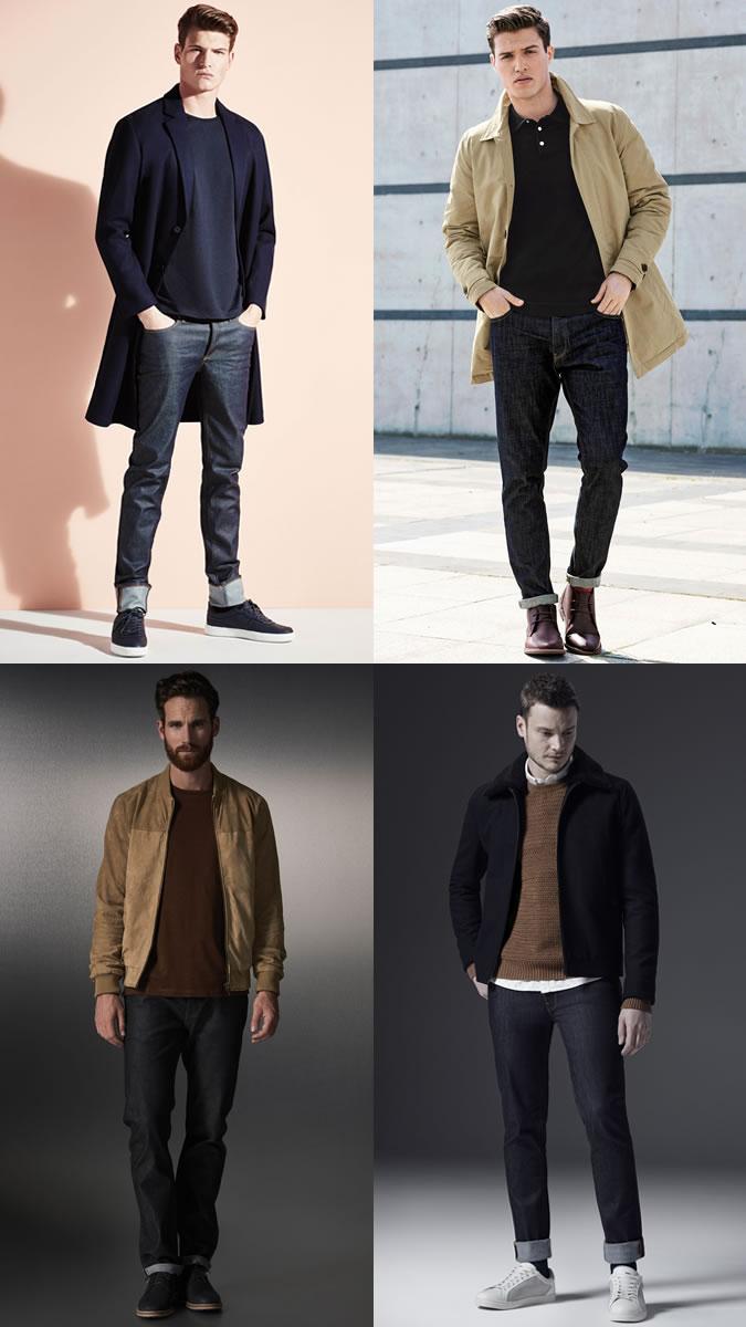 xu hướng quần jeans nam cuối năm 2016: quần cổ điển.