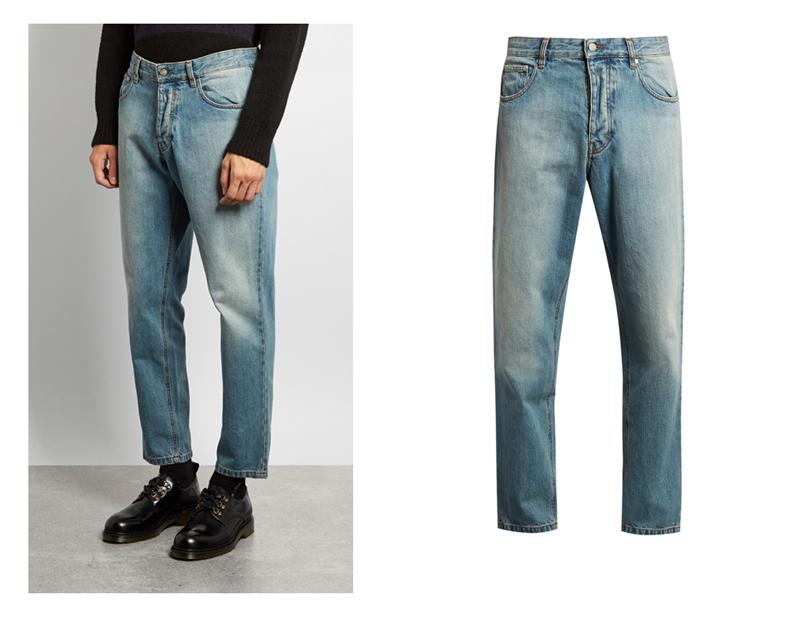 xu hướng quần jeans nam cuối năm 2016: quần Ami.