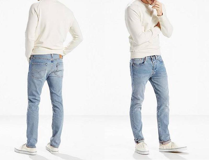xu hướng quần jeans nam cuối năm 2016: quần Levi's.