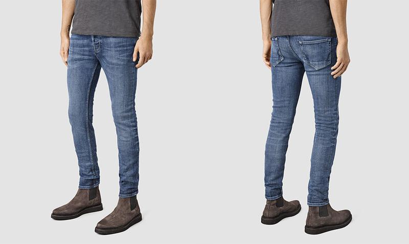 xu hướng quần jeans nam cuối năm 2016: quần All Saints.