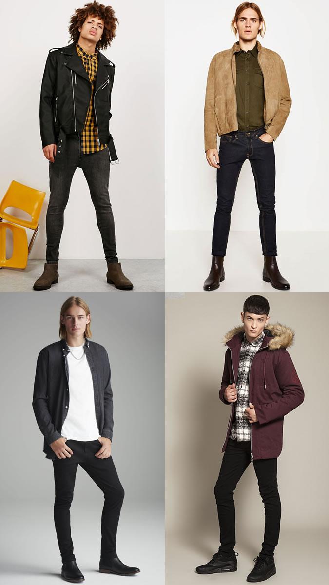 xu hướng quần jeans nam cuối năm 2016: skinny và slim-fit