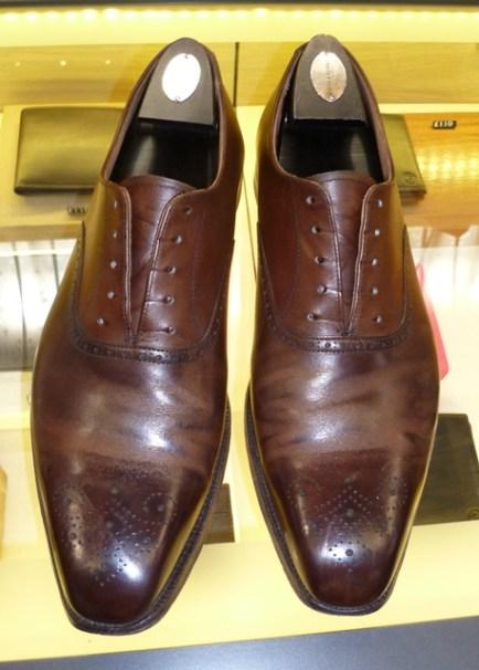 Giày da cũ
