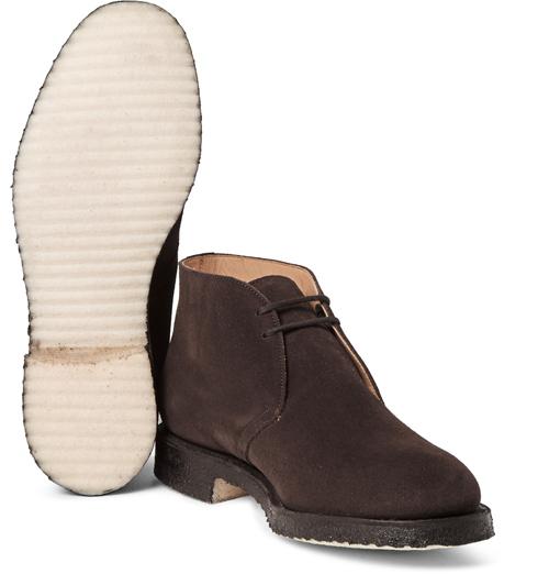 Kiểu giày nam Thu-Đông 2016: Desert Boots của Church's.