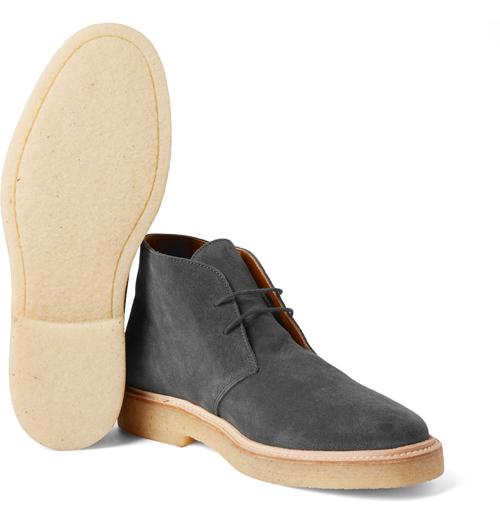 Kiểu giày nam Thu-Đông 2016: Desert Boots của Common Projects.