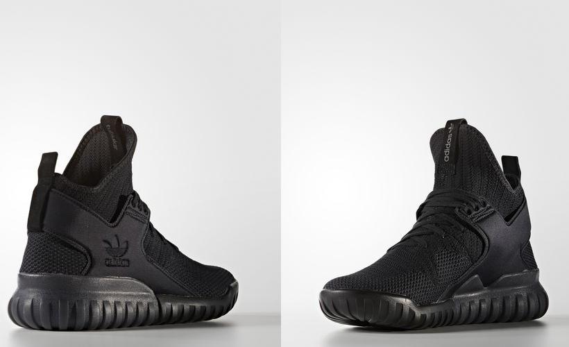 Kiểu giày nam đẹp Thu-Đông 2016: Tubular X của adidas.