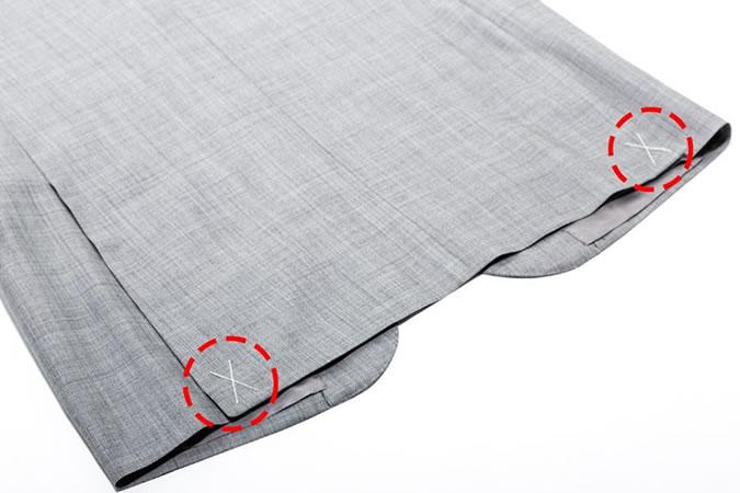 6 lỗi thường gặp khi tậu đồ vest nam mới: quên xẻ tà.