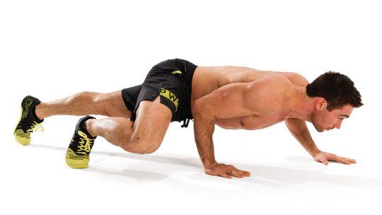 bài tập gym Crocodile Crawl