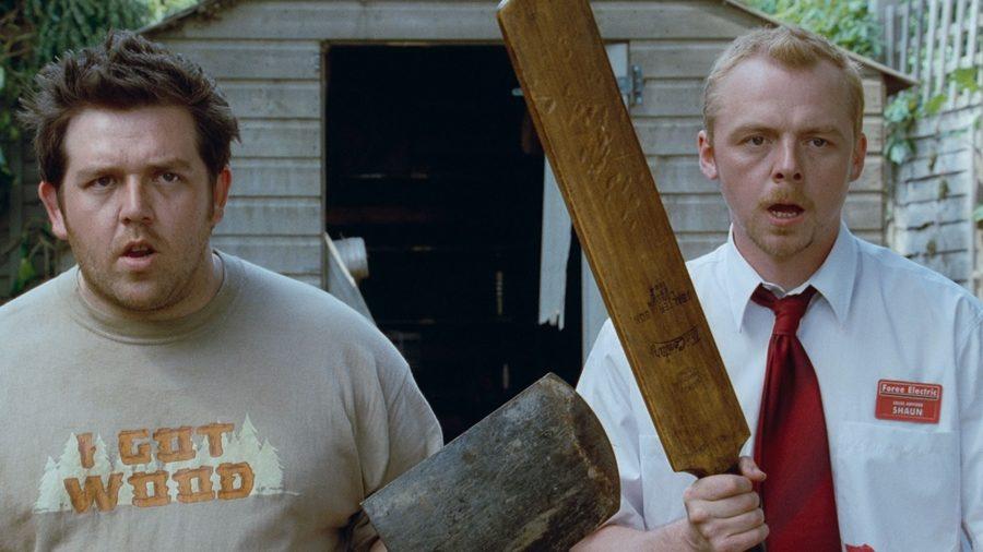 Những phim kinh dị xuất sắc về đề tài Zombie: Shaun of the Dead.