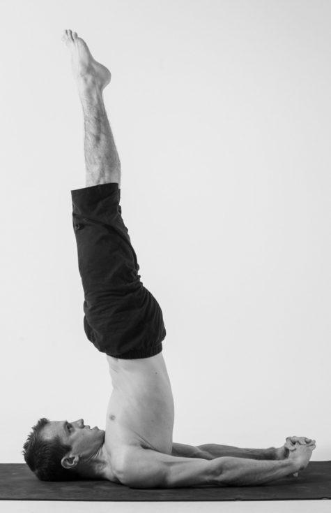Tập thể dục có giúp tăng chiều cao: Sarvangasana.