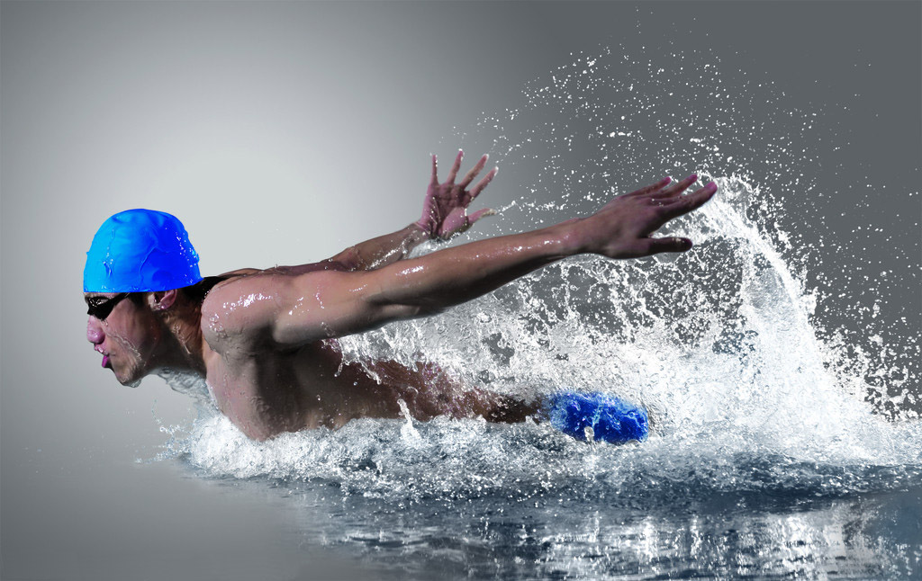 Tập thể dục có giúp tăng chiều cao: bơi lội.