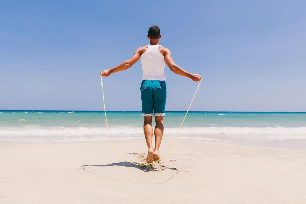 Tập thể dục có giúp tăng chiều cao: nhảy dây.