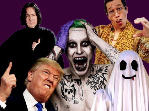 10 hình tượng hóa trang Halloween ấn tượng