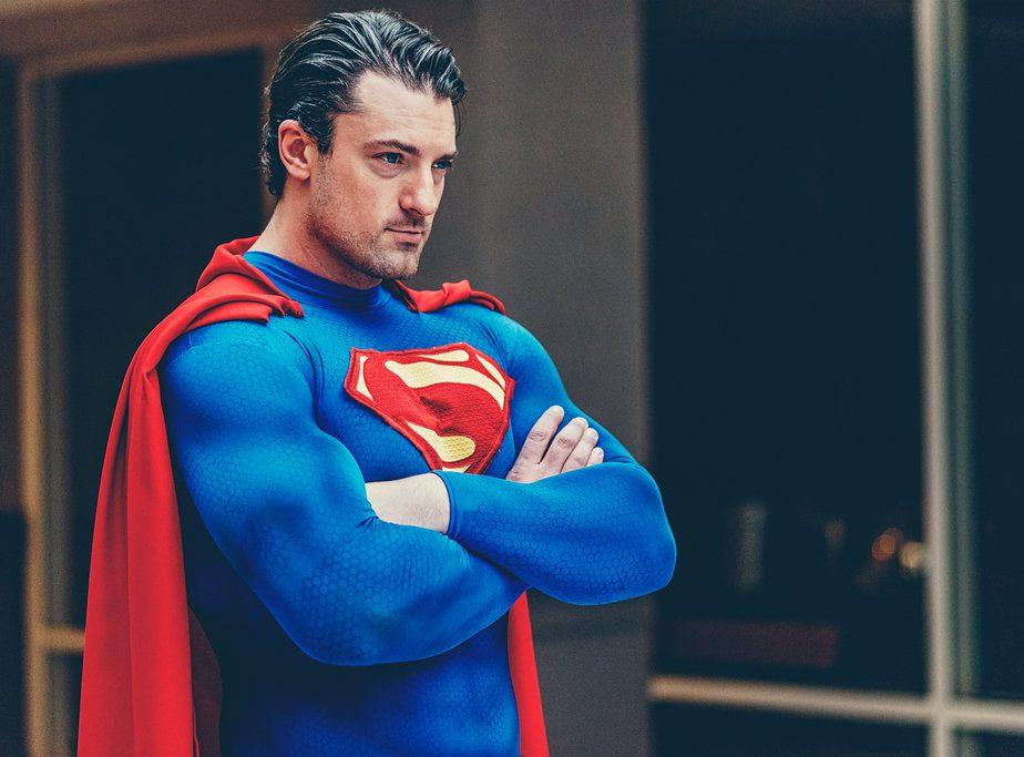Hình tượng hóa trang Halloween ấn tượng bạn nên thử: Superman