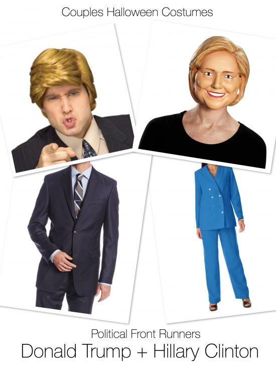 Hình tượng hóa trang Halloween ấn tượng bạn nên thử: Donald Trump và Hilary Clinton