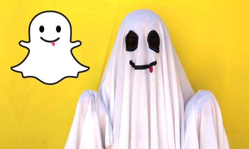 Hình tượng hóa trang Halloween ấn tượng bạn nên thử: Ứng dụng Snapchat