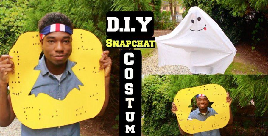 Hình tượng hóa trang Halloween ấn tượng bạn nên thử: Hóa trang thành ứng dụng Snapchat