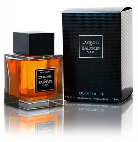 nước hoa nam mùi gỗ: Balmain Carbone de Balmain.