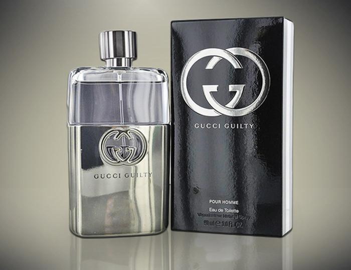 hương nước hoa nam mùi gỗ: Gucci Guilty.