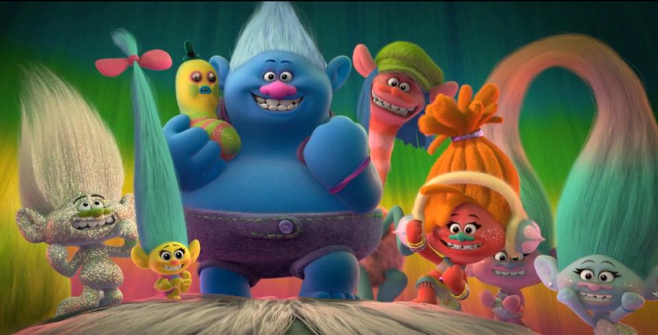 Phim chiếu rạp tháng 11: Trolls