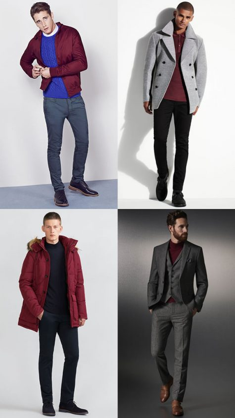 Màu sắc thời trang nam