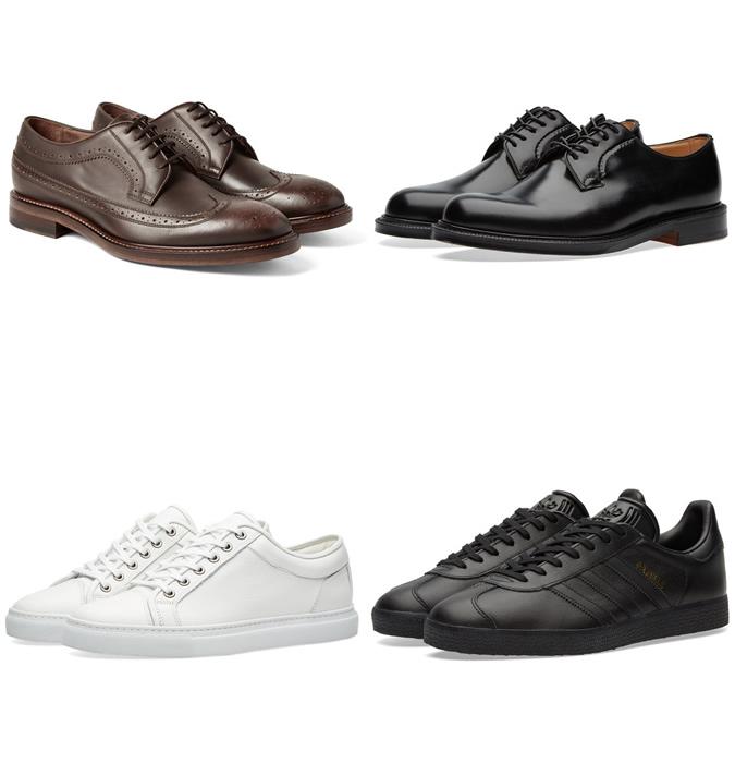 Phong cách mặc đồ cho chàng trai nhỏ người: chọn đúng giày, đúng kích cỡ.