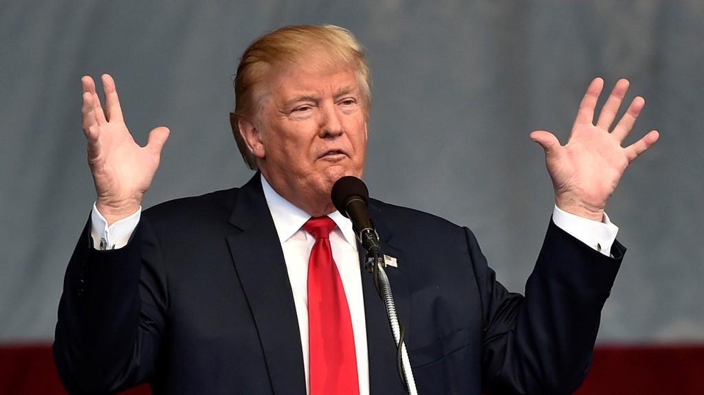ứng cử viên tổng thống Hoa Kỳ: Donald Trump.
