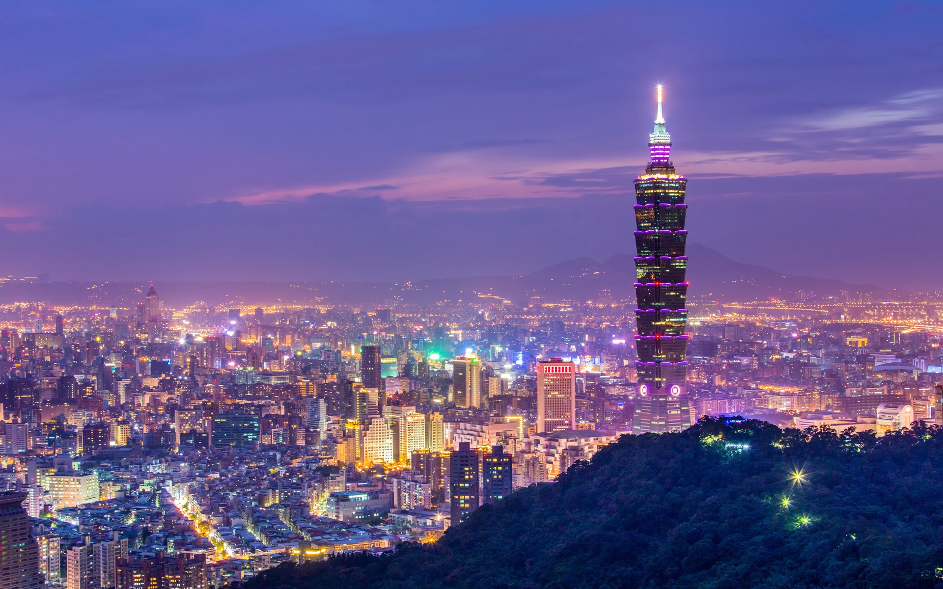 địa điểm du lịch cuối năm: Taipei.
