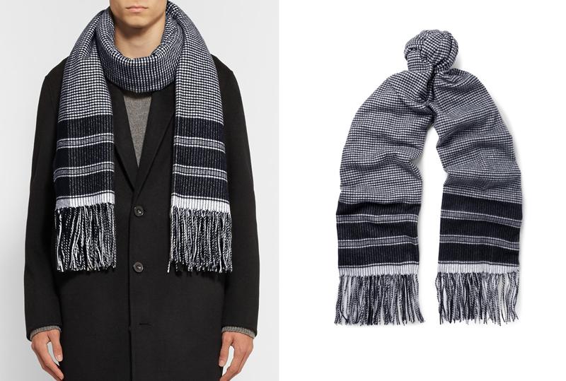 phong cách thời trang mùa Đông: khăn choàng của Begg & Co.