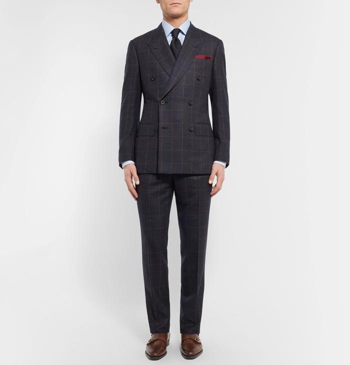 phong cách thời trang mùa Đông: suit của Kingsman.