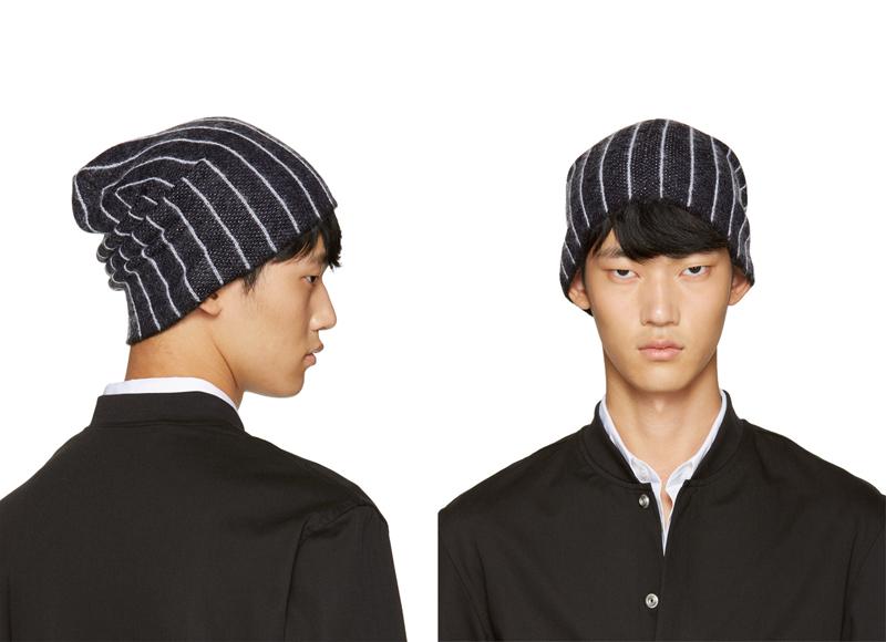 phong cách thời trang mùa Đông: mũ len của 3.1 Phillip Lim.
